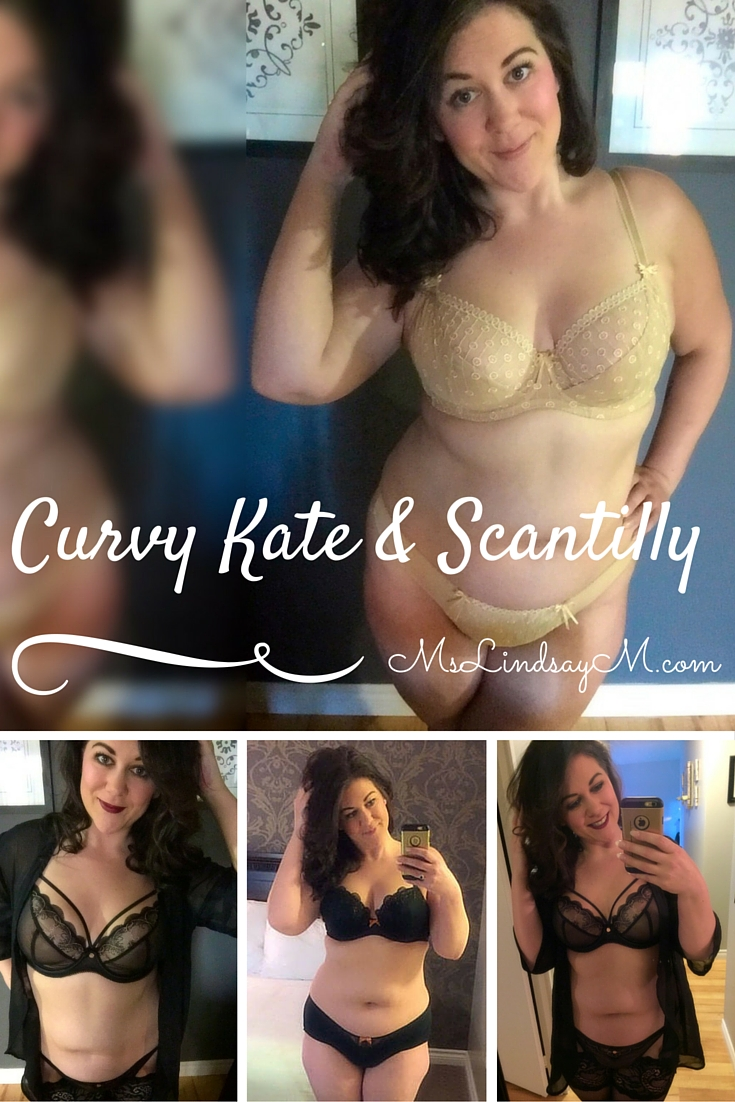 body positive activist and feminist, curvy lingerie influencer wearing Curvy Kate and Dear Scantilly