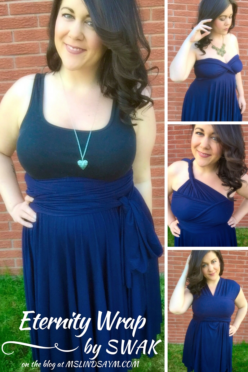 body positive activist and feminist, plus size blogger wearing SWAK Designs