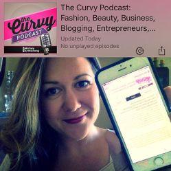 MsLindsayM, body positive activist on The Curvy Podcast