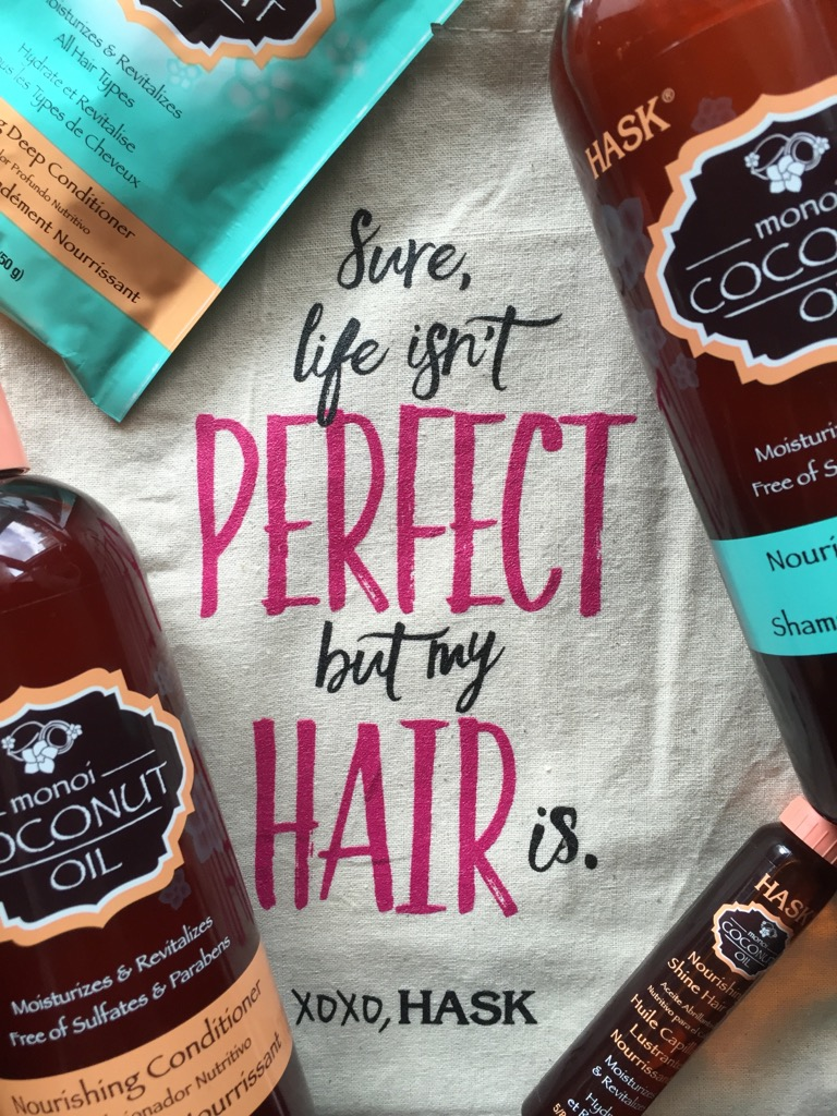HASK Monoi Coconut Oil Hair Care