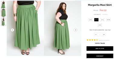 I love the colour of this maxi skirt, and of course, the fact that it has pockets.