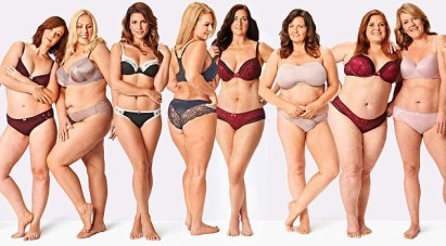 Look at all of the white women.